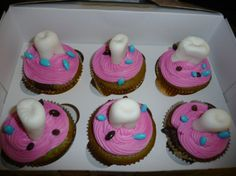 Tooth cupcakes by XOXO Designs