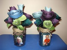 Paper Flower Bouquet for Mother's Day by Julie Byrd, via Flickr