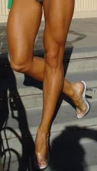 Now those are some inspirational legs!  Wow