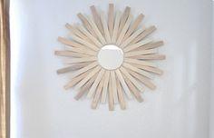starburst mirror out of Paint Sticks