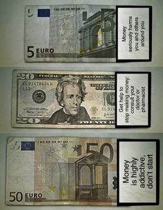 El dinero mata.