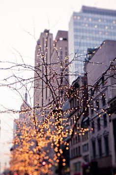 white lights, christmas nyc, christmas new york city, holiday lights, christmas lights, city lights new york, bright lights, christmas in new york