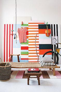 Bold and Beautiful #stripes