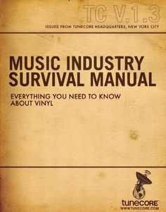 Everything you need to know about vinyl. Tunecore PDF