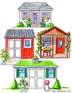 HOW TO; Siting a Garden Shed on your property, properly.  Siting a garden shed, or even a gazebo, garden pavilion or pergola on your property instantaneously will give you a focal point to look at. If sited right, it will add tons of visual value to your property. If done wrong it could lower your property's visual appeal, and might even lower its value.
