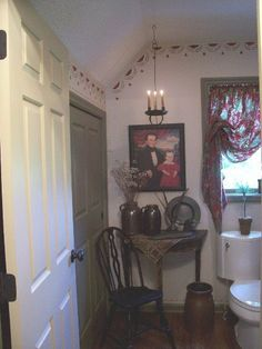 prim bathroom