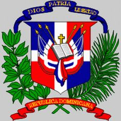shield on Dominican Republic flag