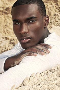 black Male Model Face Shot | ... Male Model Corey Baptiste (Eye Candy Ranked #19 of Top 50 Male Models