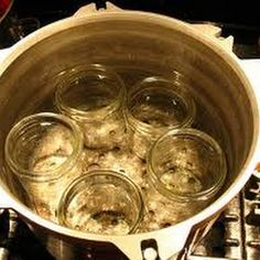sterilizing jars for canning
