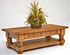 """Reclaimed Wood Coffee Table - Design #1 - Item #CT03129 - 60"""" x 30"""" x 19""""H, 48""""Sq x 19""""H, 42""""Sq x 19""""H, 36""""Sq x 19"""" & 60"""" x 48"""" x 19""""H - 20 Standard Finish Options Available"""