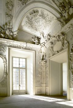 Ornate and bare