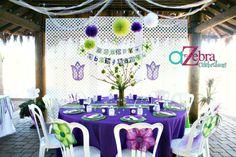 Tinker bell party- http://atozebracelebrations.com/2013/01/tinker-bell-party.html