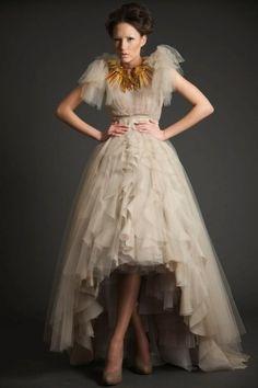 sexyqueen: Modern Wedding Dress