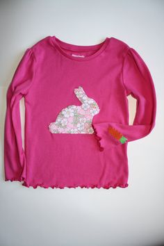 Cute Easter shirt idea - Feed the bunny a carrot by BeSweetKids #Easteroutfit #CelebrateEaster