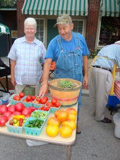 Saturday is Market Day at Roanoke Farmers' Market in Indiana 8am - noon  http://www.farmersmarketonline.com/fm/RoanokeFarmersMarket.html