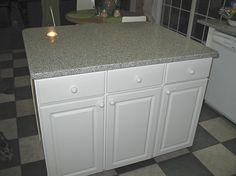Make your own kitchen island.
