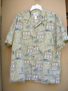 1980s Ho Aloha shirt ocean scenes with Sea by Cherrybombsvintage, $25.00