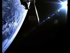 Awesome Video of a Satellite in Orbit