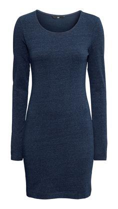 Blue Winter Dress by H&M