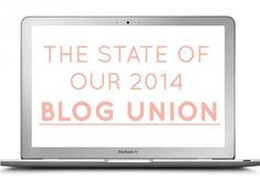 State of the blog union
