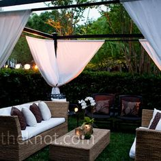 tent/outdoor lounge