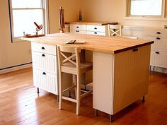 DIY Ikea craft table