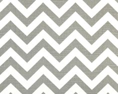 chevron patterns, tabl runner, white, curtain fabric, grey