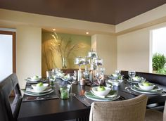 dining rooms, wall colors, interior colors, high ceilings, paint ceil, benjamin moore, painted ceilings, decorating tips, accent walls