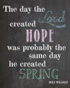 Spring Printable | www.wineandglue.com