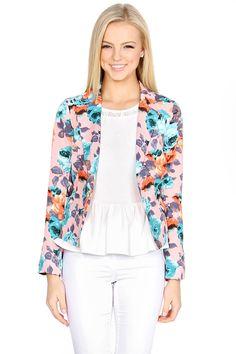 Printed blazer for women on pinterest women blazer floral blazer a
