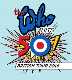 50 Years of The Who band