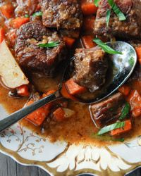 """Daube de Boeuf with Belgian Ale: a one-pot rock star beef stew that will warm you from the inside out. This is """"food with a hug"""" at its best. #recipe"""