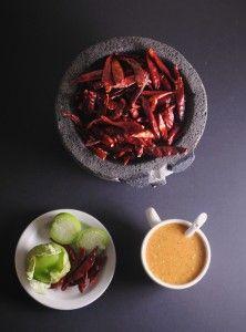 Salsa Roja de Chile Arbol