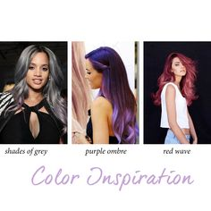 COLOR Inspiration – Did you know that most of our hair extensions can be colored no more than 4 shades lighter than its original color or dyed for some fun? Taking a detour from the traditional route, here are a few risky color hair ideas that we love! Since Halloween is near, use that as a good excuse to try these looks. #coloredextensions #coloredhair #onyc #onychair #waves #purplehair #bluehair