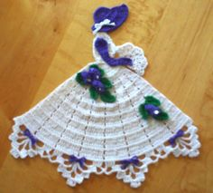 Ravelry: Ms Lily Crinoline Girl Doily (Item #0529) pattern by Cylinda Mathews
