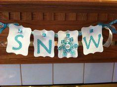 "My ""Snow"" pennant"