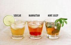 3 Classic Cocktails