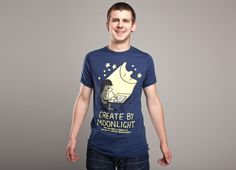 """""""Create by Moonlight"""" - Threadless.com - Best t-shirts in the world"""