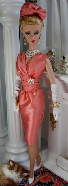 Sea Coral for Silkstone Barbie and similar size dolls.