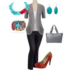This is the perfect versatile chic fun outfit! plus size outfits by penny-martin on Polyvore