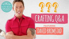 Crafting Q & A with David Bromstad - Guest Week - HGTV Handmade