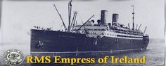 The Empress of Ireland. Sunk on Wolfe's international seaway in 1914 twenty years after the Seaway Commission was launched. 1,015 passengers and crew lost their lives. No shipwrecks in Wolfe Island. Maybe in the next book....