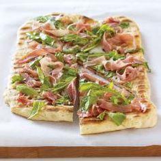 Prosciutto Arugula Pizza finger foods