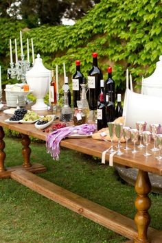 up parties wine tasting buffet tabl wine parties garden parties
