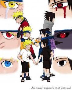 Naruto and Sasuke...