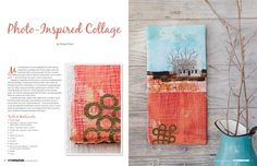 PS Art Quilting Studio Summer 2014 - Pre-Order - Stampington