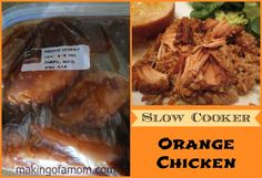 Orange Chicken – A Slow Cooker Meal