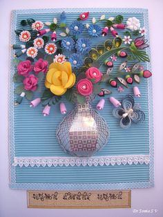 Punchcraft and Quilling Flowers