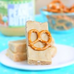 Peanut Butter Pretzel Luna Bars - Without a doubt, these are better than any energy bar I've EVER bought at a store.