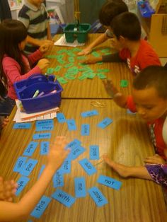 sight word slap cards....teacher says a word then the first student to slap the card gets to keep it in their pile